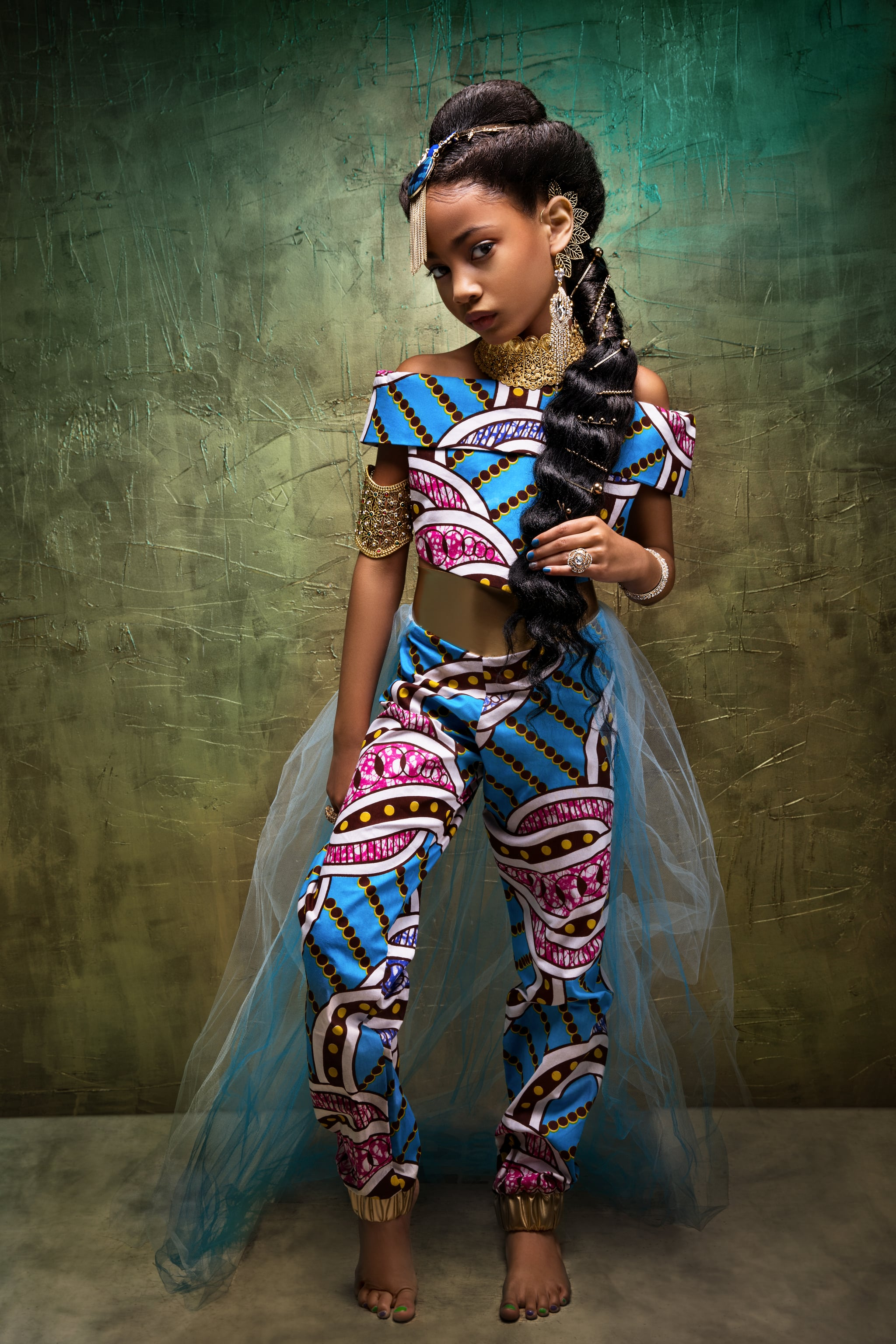 Black girl barefoot Photo Shoot Features Black Girls As Disney Princesses Popsugar Family