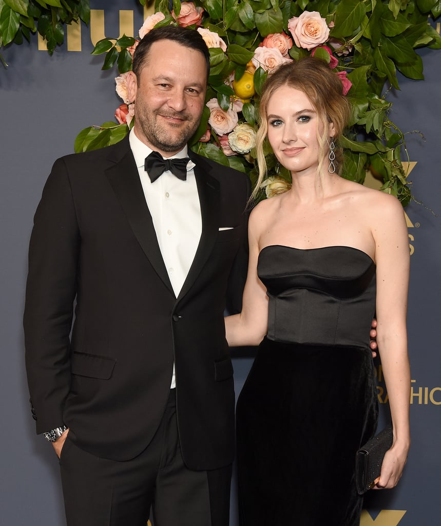 Dan Fogelman might need to close his eyes while watching his show This Is Us. In case you missed it, the series creator and brains behind the tear-jerking series is married in real life to actress Caitlin Thompson, aka Madison on the show. Of course, it's all show biz, but it has to be a weird experience watching your beloved wife get together with Justin Hartley on screen, right? Funnily enough, now that we know Kevin Pearson (played by Justin) and Madison (played by Caitlin) are expecting twins together, fans have dug up an old tweet of Dan's where he said he would never let his wife sleep with Justin on national TV! Ha! Just FYI: Madison is my wife in real life @CaitwithaC And if you thought I was letting her sleep with @justinhartley on national television you're nuts.  #ThisIsUs— Dan Fogelman (@Dan_Fogelman) March 14, 2018    Regardless, Dan and Caitlin make for one supercute couple in real life — Jack Pearson would definitely approve. The two have been married since 2015 and welcomed a son, Benjamin, earlier this year. Despite keeping their relationship relatively private, we've been lucky enough to see them share some sweet moments on the red carpet and on Caitlin's Instagram over the last few years. Check out pictures of Dan and Caitlin ahead.      Related:                                                                                                           Let Out a Good Cry With the This Is Us Season 5 Soundtrack