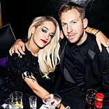 Rita Ora and Calvin Harris began dating in March 2013. They broke up a year later.