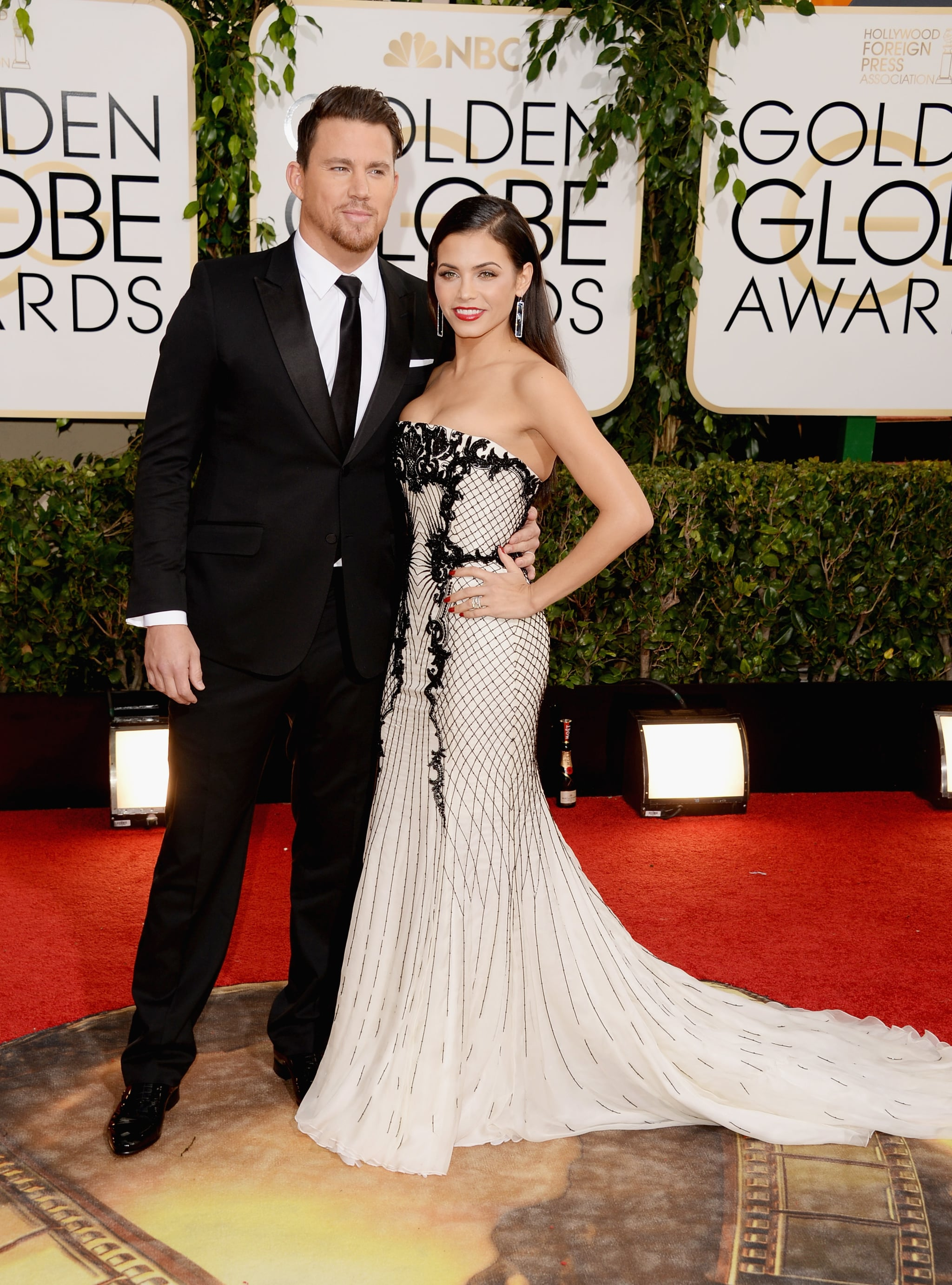 Channing Tatum and Jenna Dewan stepped out together for the event.