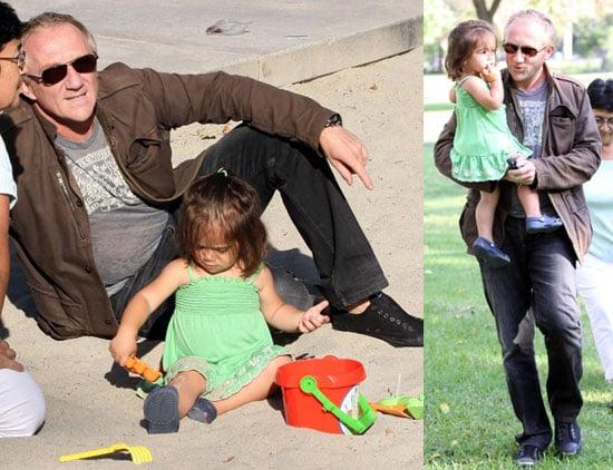 Photos of Valentina and Dad