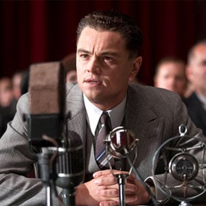 Leonardo DiCaprio as J. Edgar Hoover Picture