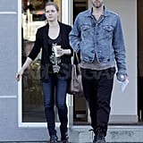 Amy and Darren Follow Up Oscars Weekend With Everyday Errands