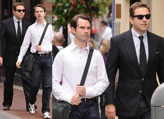 Photos Of David Walliams and Jimmy Carr in Dublin