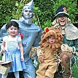 Neil Patrick Harris, David Burtka, and their twins, Harper and Gideon, were the epitome of cuteness as the Tin Man, Scarecrow, Dorothy, and the Cowardly Lion in 2012.