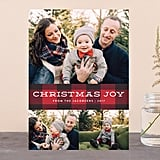 Plaid Tidings Card from Minted ($1-$3 per card)
