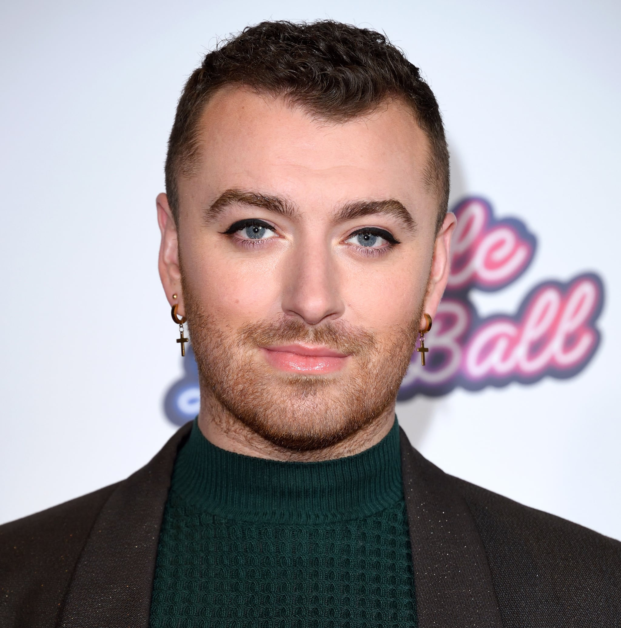 LONDON, ENGLAND - DECEMBER 08: Sam Smith attends day two of Capital's Jingle Bell Ball 2019 at The O2 Arena on December 08, 2019 in London, England. (Photo by Karwai Tang/WireImage)