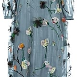 Heads will turn if you wear this Valentino Floral Applique Evening Dress ($9,870).