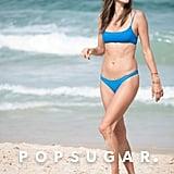 Alessandra Ambrosio Blue Bikini December 2018