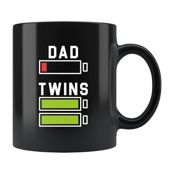 Dad Vs. Twins Mug