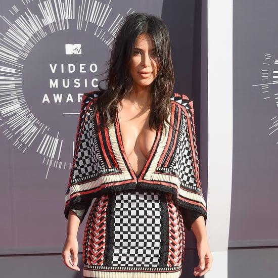 Kim Kardashian, Kylie Jenner, Kendall Jenner at the MTV VMAs