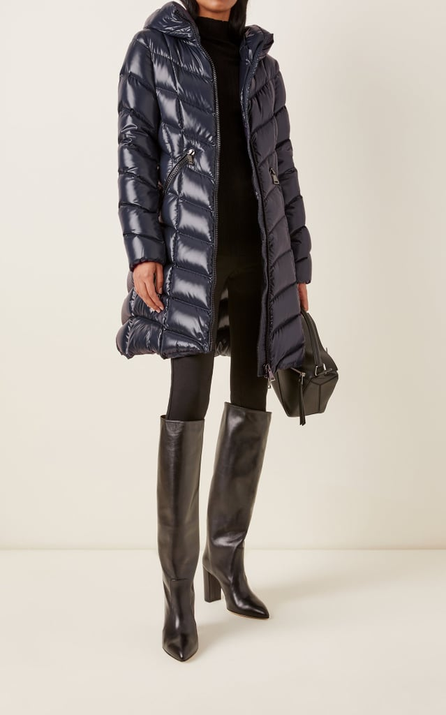 Moncler Marus Hooded Long Down Puffer Coat