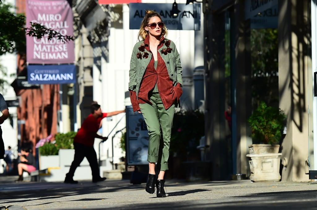 Olivia Palermo Autumn Street Style 2016