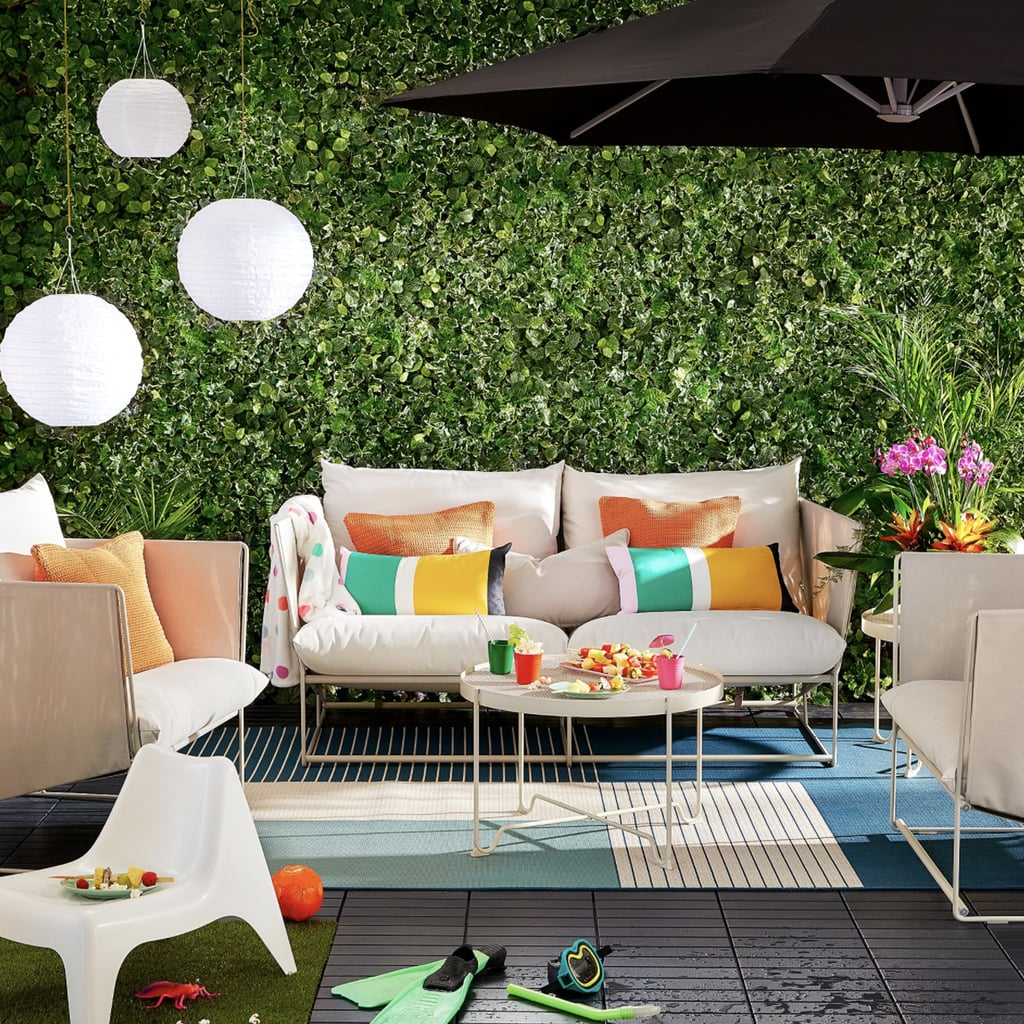 Bondholmen Table And 4 Armchairs Ikea S Outdoor Furniture Will Turn Your Backyard Into A Personal Paradise Popsugar Home Photo 49