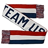 Red/White Team USA Jacquard Scarf