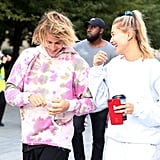 Justin Bieber Sings to Hailey Baldwin in London 2018