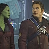 Gamora and Star-Lord From Guardians of the Galaxy