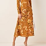 Zimmermann Resistance Floral-Print Silk Dress