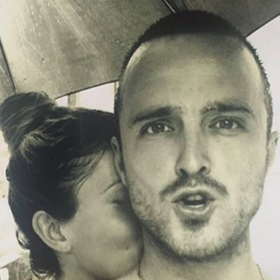 Lauren Parsekian's Birthday Message For Aaron Paul 2016