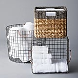 Small Milk Crate Wire Basket