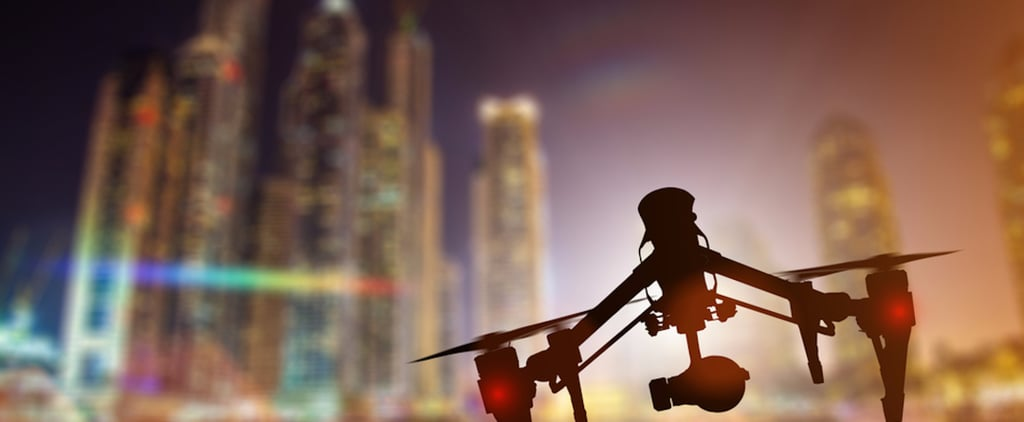 Dubai Using Drones to Fight Fires