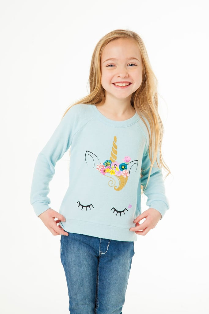 Unicorn Face Sweatshirt