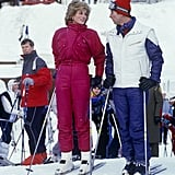 The duo kicked off a ski holiday in Vaduz, Liechtenstein, in 1985.
