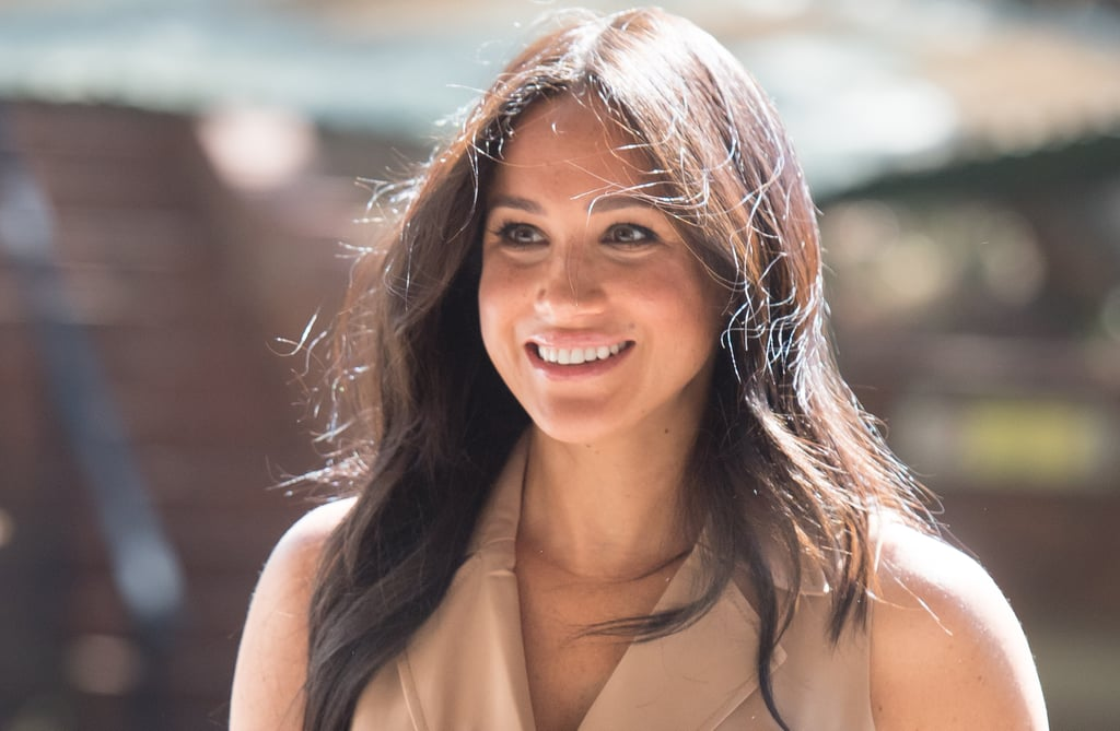 "As Meghan Markle and Prince Harry's Southern Africa tour draws to a close, the Duchess of Sussex is leaving her mark on the region. On Tuesday, the 38-year-old royal paid a special visit to the University of Johannesburg to participate in a roundtable discussion with the Association of Commonwealth Universities, of which she is patron. While there, Meghan — who channeled her former Suits character, Rachel Zane, in a sleeveless trench coat dress — gave a powerful speech about gender equality and the importance of education. ""Higher education, specifically, is such a key element for growth — economic growth but also personal growth and development,"" Meghan said before picking up a notecard and joking, ""I will use a notecard for this because, my goodness, this is the last bit that I can't screw up.""  Meghan then announced a set of three gender grants to support gender equality and ""support women as they are working in research and higher education roles,"" as well as four new Queen Elizabeth Commonwealth scholarships for students from Tanzania, Zambia, and Nigeria to study in South Africa next year. ""It's a really exciting day. I'm thrilled,"" Meghan added. In addition to Kate Middleton, Meghan is the only other royal bride who has received a college education. The duchess attended Northwestern University, where she earned a bachelor's degree with a double major in theater and international studies in 2003. So it makes sense why supporting girls' education is one of her key causes.  Of course, this hasn't been her only speech on the tour; Meghan also delivered an inspiring speech about women's rights when she arrived in Cape Town last week.       Related:                                                                                                           Harry and Meghan's Southern Africa Tour Included So Many Cute Moments With Kids"