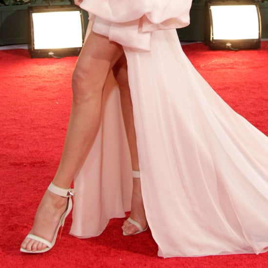 Givenchy Ankle-Strap Sandals (Celebrity Pictures)