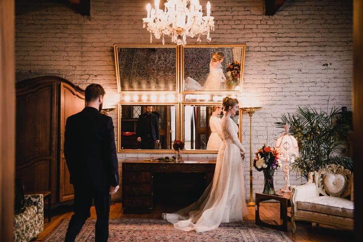 Quirky And Elegant Halloween Wedding  Popsugar Love  Sex Photo 14-2995