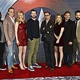 Captain America: Civil War London Red Carpet 2016
