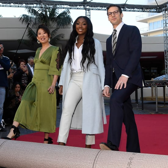 Isan Elba 2019 Golden Globes Interview
