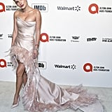 Bella Thorne at the 2020 Elton John AIDS Foundation Academy Oscars Party