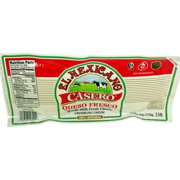 El Cazo Mexicano Queso Fresco Casero ($11 per pound)