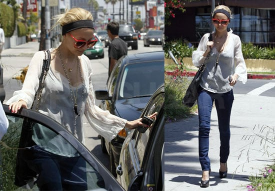 Nicole Richie Has Important Business to Attend To