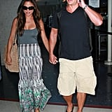 Nick Lachey and Vanessa Minnillo after their honeymoon.