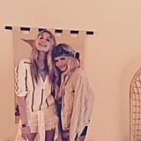 Gigi Hadid and Alli Simpson Cozied Up