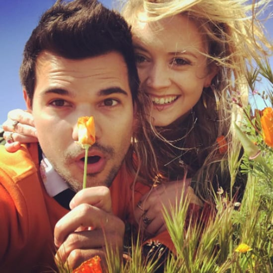 Taylor Lautner and Billie Lourd Instagram Photo March 2017