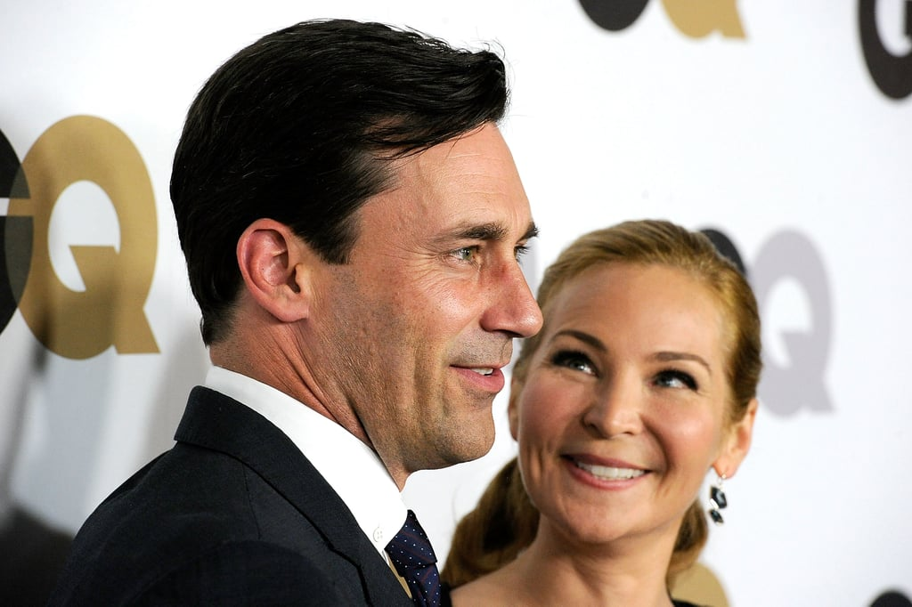 Jon Hamm and Jennifer Westfeldt together in LA.