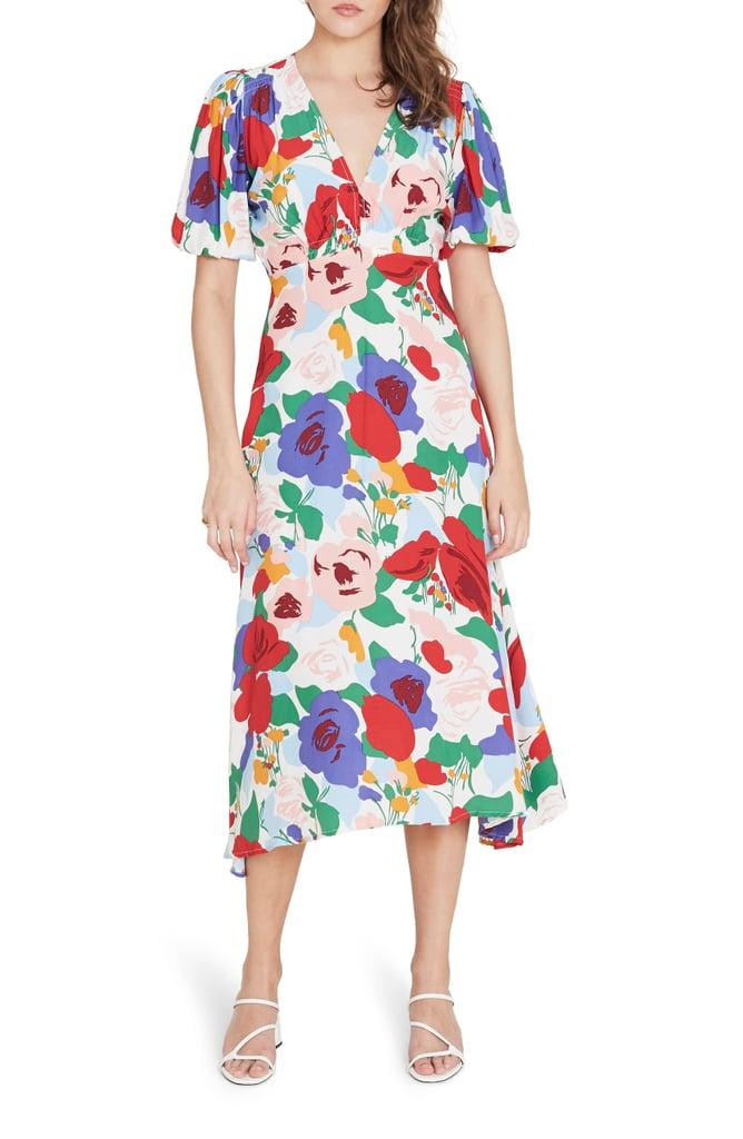 Faithfull the Brand Vittoria Floral Midi Dress