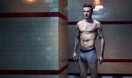 When David Beckham Modeled in His Underwear