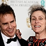 Pictured: Sam Rockwell and Frances McDormand