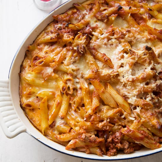 Greek Mac and Cheese With Meat