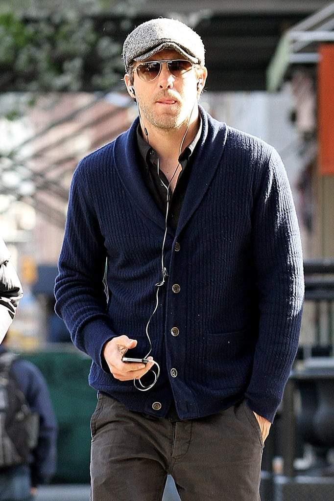 Ryan Reynolds out in NYC.