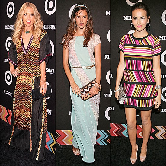 Celebrities at Missoni For Target Party 2011