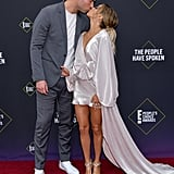 Mike Caussin and Jana Kramer at the 2019 People's Choice Awards