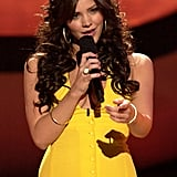 Katharine McPhee Rewears Her Yellow Dress From American Idol