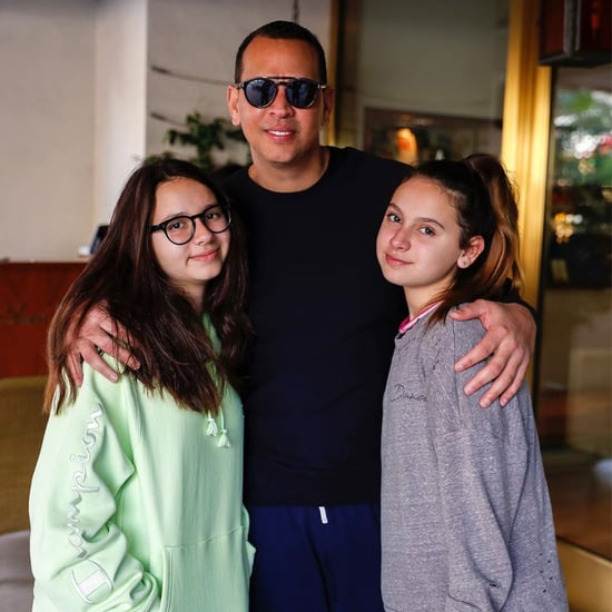 Alex Rodriguez's Daughters Praise Emme's Super Bowl Debut