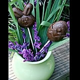 Easy-to-Make Chocolate Easter Lollipops