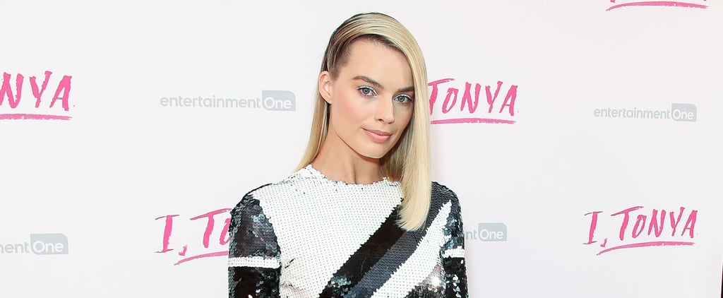 Margot Robbie Stole the Spotlight in This Sequined Dress Fit For an Olympic Skater